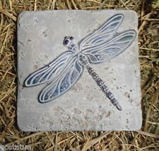 gostatue dragonfly abs plastic tile casting mold mould
