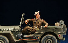 DEF.MODEL, WWII British Jeep Driver (1 FIGURE), DO35002,1:35