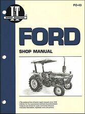 Ford New Holland 2810 2910 3910 1983-90 Tractor Service Repair Workshop Manual