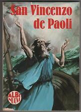 SAN VINCENZO DE' PAOLI albi nuovi n.16 tuttostoria 1980 saint vincent de paul s.