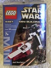LEGO Star Wars Mini Building Set 4487 SLAVE 1/JEDI Factory Sealed New 53pcs4/4