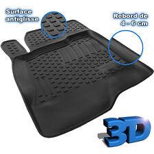 TAPIS SOL CAOUTCHOUC 3D TPE SPECIFIQUE DACIA DUSTER 2WD 4x2 1.5 DCI 90 110 CV