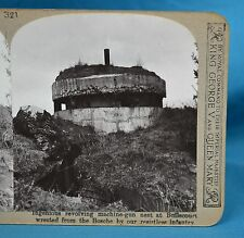 WW1 Stereoview German Revolving Machine Gun Nest Bullecourt Realistic Travels