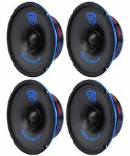 "(4) Rockville RM64SP CEA Compliant 6"" 480W Mid-Bass Midrange Car Speakers 4 Ohm"
