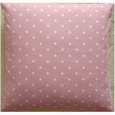 "24"" Large Floor Pillow Cushion Cover Pink White Polka Dots Spots Dotty Spot"