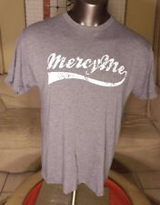 Mercy Me Christian Band Gray Large Short Sleeve Tee T-Shirt