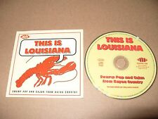 This Is Louisiana (2001) 18 TRACK cd