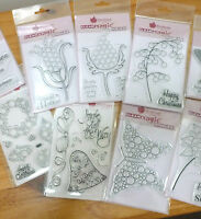 New - Bubble Bloom - Clear Stamps - Cling Stamps - Peel Offs - Gold & Silver