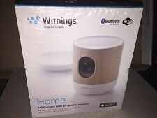 Withings Home HD Camera with Air Quality Sensors Bluetooth/WiFi Model WBP02 NEW