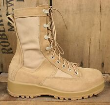 BELLEVILLE 790 ST Gore-Tex Desert Tan Suede Military Combat Safety Boots (5.5 W)