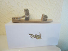 Ancient Greek Sandals 'Clio' Python Leather Sandals