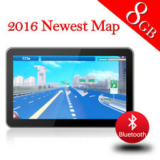7 Inch CAR GPS Navigation Truck Navigator USA Canada Maps 8GB SAT NAV US STOCK