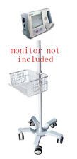Rolling stand for Philips Agilent A1 vital sign monitor  (big wheel) new