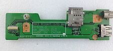Dell XPS M1530 PP28L USB Right I/O Board and CMOS battery Board