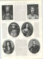 1901 Creation Of The Duke Of Cornwall Prince Of Wales