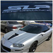 "SLP Performance Windshield Vinyl Decal 24"" Camaro Firebird Corvette 