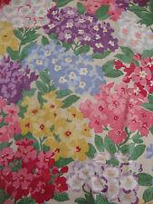 63cm SANDERSON Cottage Garden cotton curtain fabric remnant 1930s design