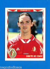FOOTBALL 99 BELGIO Panini-Figurina -Sticker n. 325 - DE CONDE - STANDARD -New