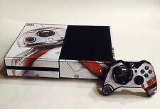 BB-8 STAR WARS Skin Sticker Vinyl Decal Cover X-Box One S Console+Controller