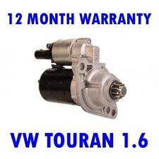 VW TOURAN 1.6 2003 2004 2005 2006 2007 2008 - 2010 RMFD STARTER MOTOR