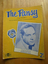 The Pansy (sheet music)