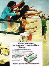 PUBLICITE ADVERTISING  1972   REXONA  savon