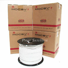2000ft RG6 Coaxial Coax Cable Satellite TV DISH DIRECTV FOUR 500ft PULL BOX REEL