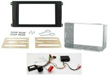 Porsche Cayenne 02-07 Double Din Fitting Kit with Steering and Amplifier Adaptor