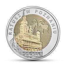 Poland / Polen - 5zl Discover Poland – Poznan Town Hall