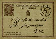 Z8488-PIEMONTE, MURAZZANO, DOPPIO CERCHIO PER BRA, 1877