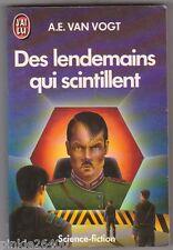 Des lendemains qui scintillent - Van Vogt . SF.Donald Grant en couv.
