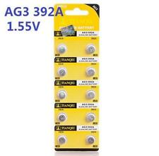 10X Batteries AG3 L736 LR41 392A SR41 Coin Button Cell Battery Watch camera S