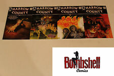 Harrow County 1 2 3 4 1-4 Complete Bunn Comic Lot Run Set 1st Print Collection