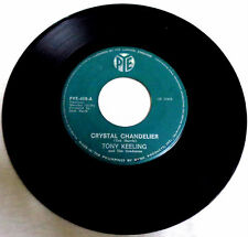 "PHILIPPINES:TONY KEELING & THE GRADUATES - Crystal Chandelier, 7"" 45 RPM RARE!!"