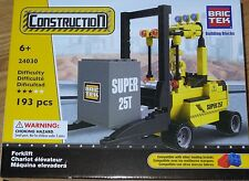 Forklift Construction Bric Tek Building Block COnstruction Brick Toy 24030