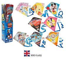 DISNEY FLYING KITES Kids Line Kite Park Beach Toy Christmas Gift Stocking Filler