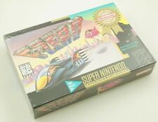 Super Nintendo SNES - F-Zero - Brand New Factory Sealed