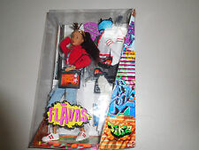 Flavas Tika Mattel Urban Hip Hop Doll NRFB  2003 #B7581 Two Outfits