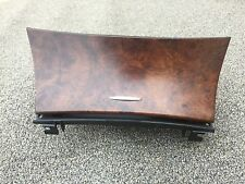 91K MERCEDES W219 CLS63 E55 WOOD CONSOLE ASHTRAY COIN STORAGE COMPARTMENT OEM