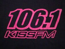 106.1 KISS FM Dallas North Texas Pop Music Radio Station Top 40 T Shirt M