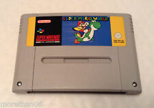 SUPER MARIO WORLD * CLASSIC SUPER NINTENDO / SNES GAME * GWO * PAL *