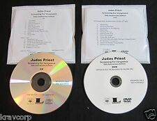 JUDAS PRIEST 'SCREAMING FOR VENGEANCE 30TH ANN' 2012 PROMO CD/DVD SET