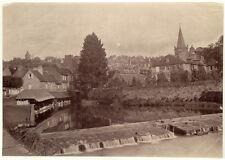 Photo Albuminé Probablement La Bretagne Vers 1890