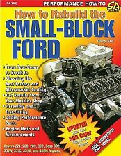 How to Rebuild the Small-Block Ford by George Reid *NEW* Book S-A Design 102