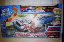 Jada Toys Battle Machines Combat Crash R/C Track Set - 8  Feet Battle Action