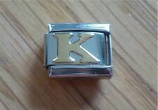 Italian Charms Charm - Gold Letters   Letter K