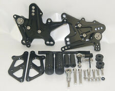 Rearsets Rear Set Foot Pegs Black Fit 2011 2012 2013 2014 KAWASAKI Ninja ZX-10R