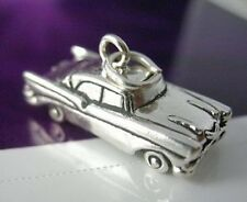 LOOK 3D Car Sterling Silver vehicle Charm 57 chevy Chevrolet