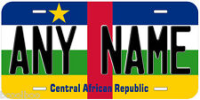 Central African Republic Flag Novelty Car License Plate