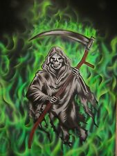 Grim Reaper 7 Airbrush Stencil Multi Layer Template Spray Vision *Best Designs*